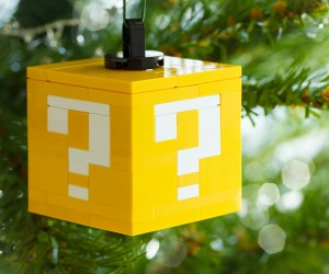 LEGO Question Block Ornament: Super Secret Santa Bros.