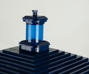 lego tardis doctor who 1 3 scale by shelly timson 2 300x250