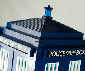 lego tardis doctor who 1 3 scale by shelly timson 3 300x250