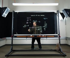 Lightboard Transparent Dry-Erase Board: Show & Tell