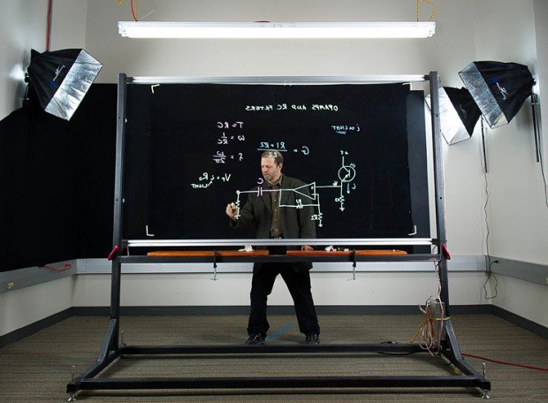Lightboard Transparent Dry-Erase Board: Show & Tell