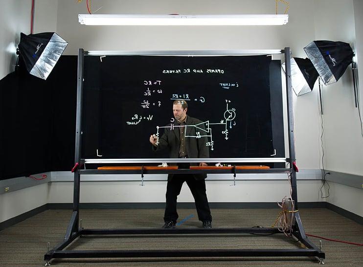Lightboard Transparent Dry Erase Board Show Amp Tell Technabob