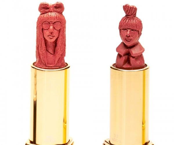 Intricate Lipstick Art is Super Creative and Super Expensive