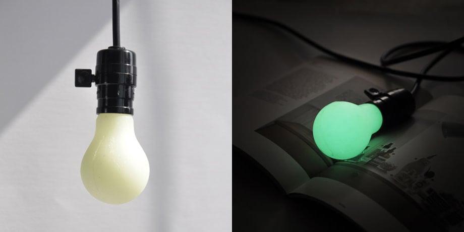 DIY Luminous Bulb: (Glow in the) Dark Bulb - Technabob