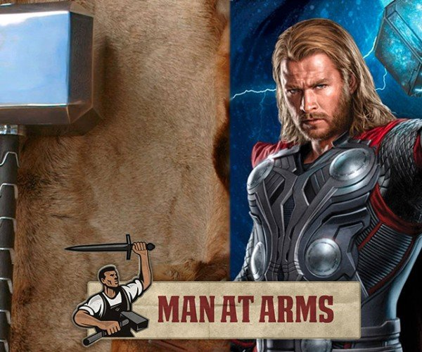 It's Hammer Time! Blacksmith Tony Swatton Forges Thor's Mjölnir