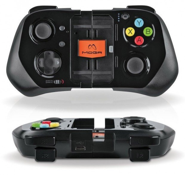 iphone game controller moga ace power gaming controller supports ios 7 technabob 11884