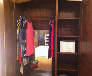 Awesome Narnia Wardrobe Leads to a Secret Room, Complete with Lion
