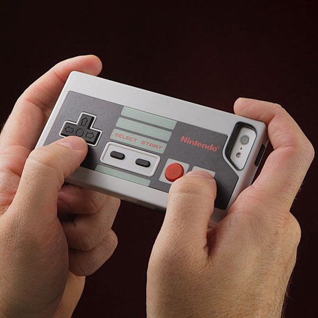 nes controller iphone 5 case by thinkgeek 2