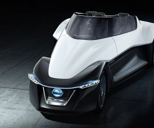 Nissan BladeGlider Concept Hints at Future Production EV