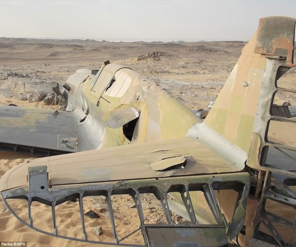 Royal Air Force Fighter Found in Sahara Desert 70-Years After It Went Missing