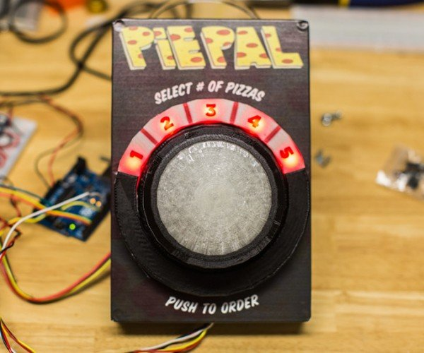PiePal Orders Pizza at the Touch of a Button: The Easy Button for Pizza Delivery