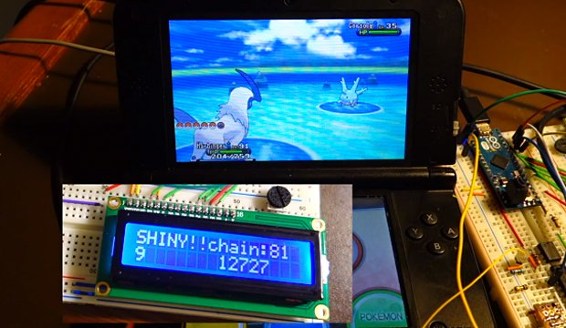 pokemon x y automatic shiny finder by dekuNukem