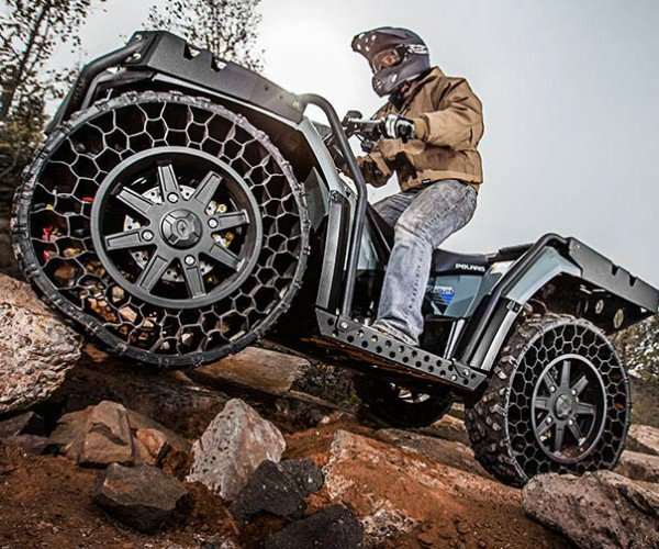 Polaris Sportsman ATV Will Never Get a Flat
