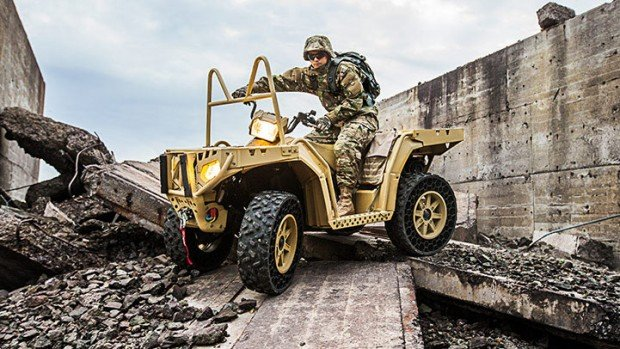 polaris sportsman atv military photo