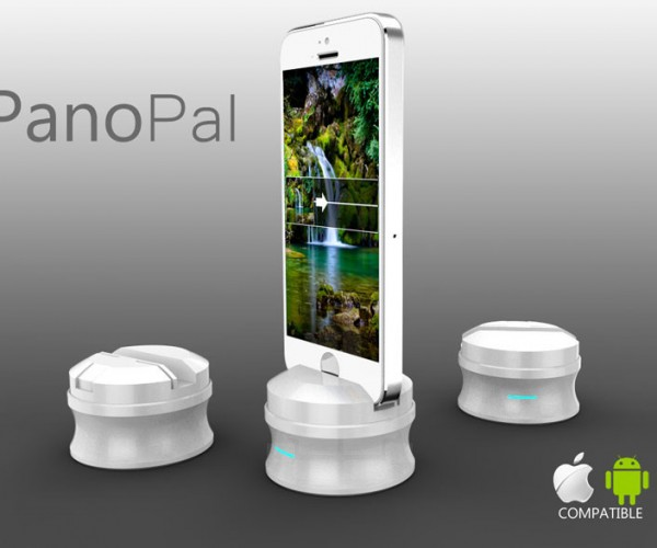 PanoPal Smartphone Stand: Take Perfect Panoramas Every Single Time