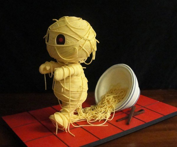 'Ramen'ses Return Cake: Oodles of Noodles