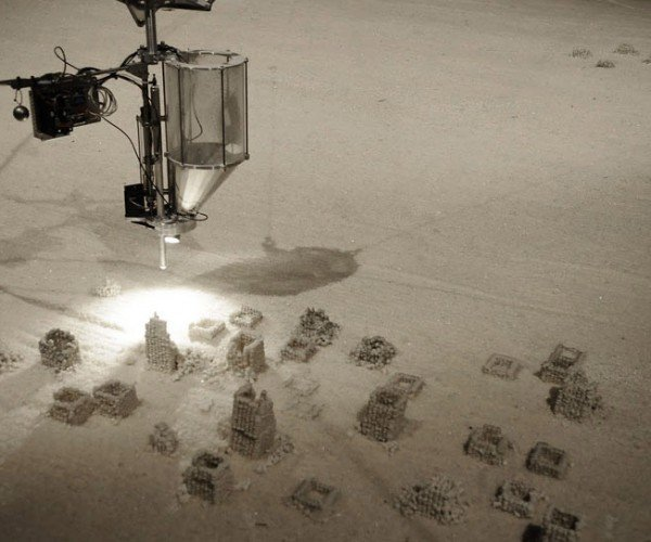 Robot Builds Salt Sculptures While You Lounge in the Jacuzzi