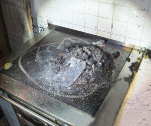 Roomba Commits Suicide: Rolls onto Stove and Burns