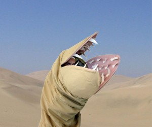 Dune Sandworm Costume: We Have Wormsign