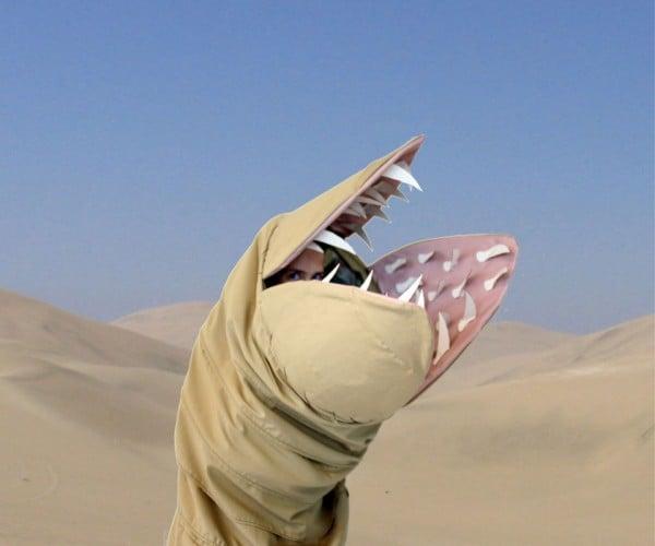 Dune Sandworm Costume: We Have Wormsign
