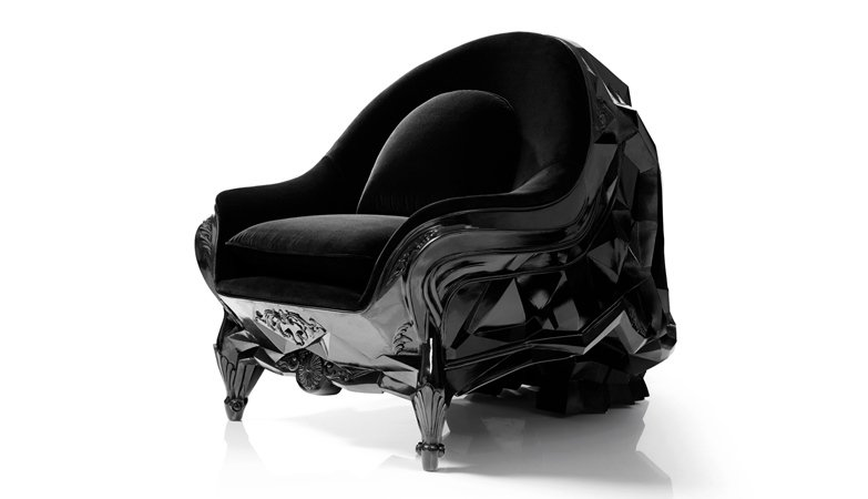 Channel Your Inner Skeletor With The Skull Armchair