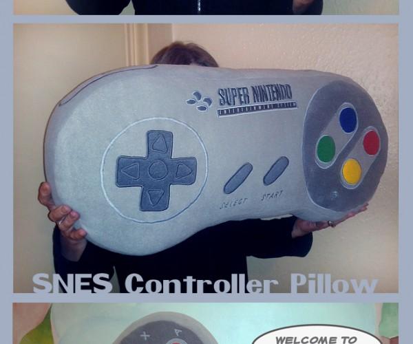 SNES Controller Pillow: SNUZ Controller