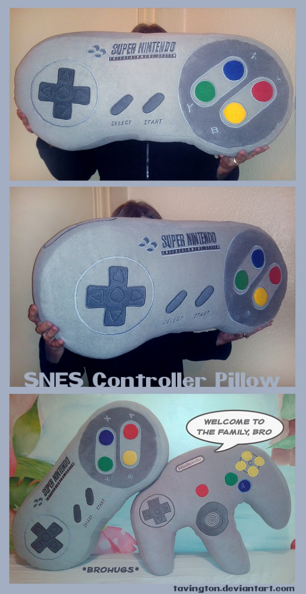 snes-controller-pillow