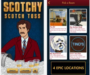Anchorman 2: Scotchy Scotch Toss Mobile Game Keeps It Classy