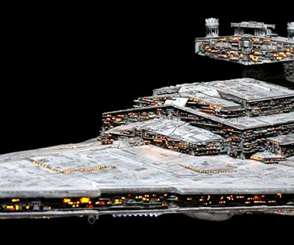 Star Wars Imperial Star Destroyer Model By Choi Jin Hae 10