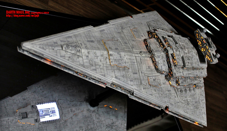 1 2256 star wars imperial star destroyer a direct assault on your eyes technabob - Painting tips will make home come alive ...