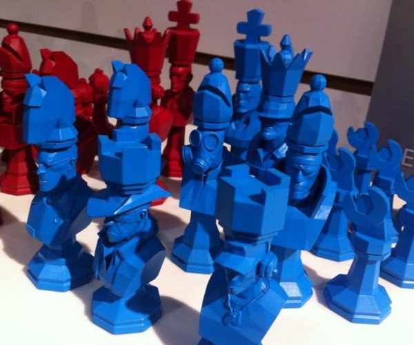 Team Fortress 2 Chess Set: Deep Blu