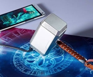 Thor's Hammer Charger Summons the Power for Your Smartphone