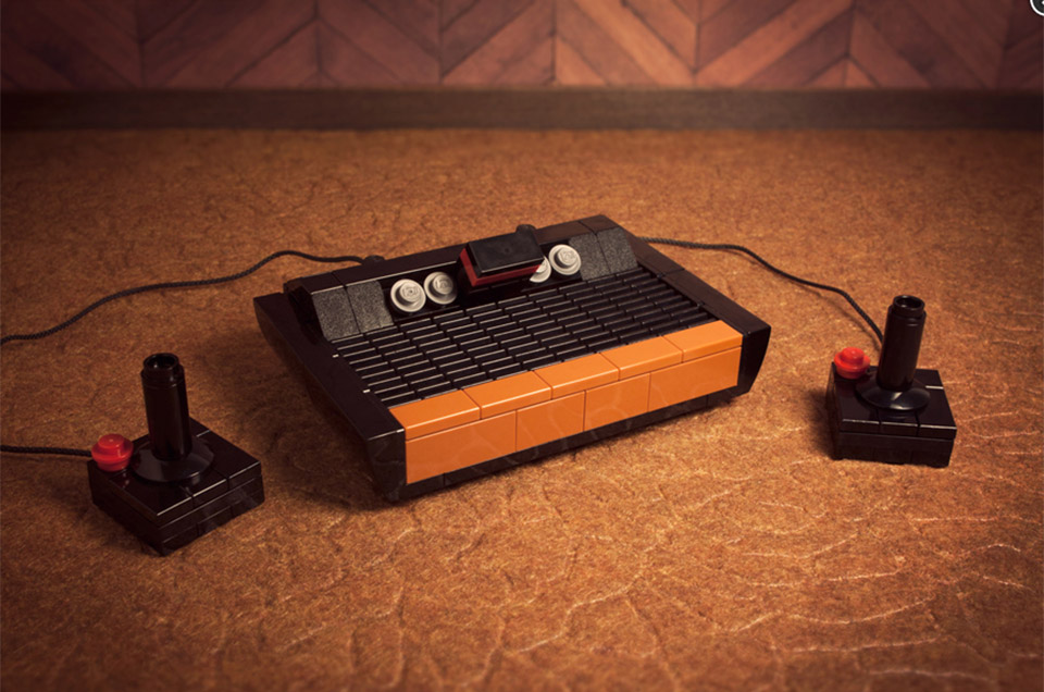 Mini Atari 2600 and Commodore 64 LEGO Kits: 8-Bit Bricks - Technabob