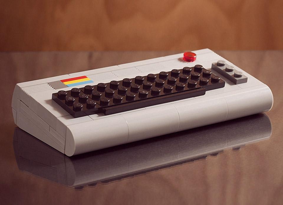 Mini Atari 2600 And Commodore 64 Lego Kits 8 Bit Bricks