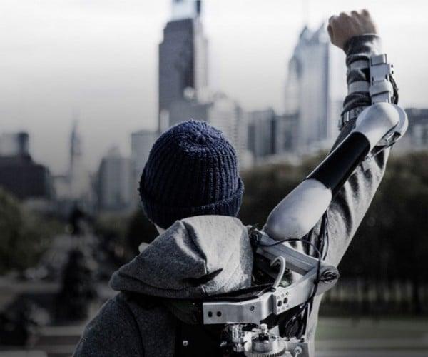 Titan Arm Assistive Exoskeleton Wins James Dyson Award