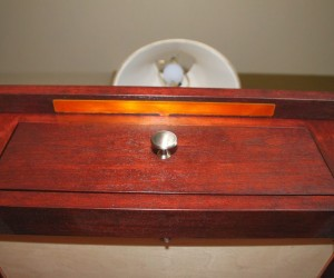 DIY Touch Sensitive Nightstand: a Light Touch