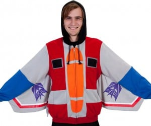 Transformers Starscream Hoodie is Plotting Against Your Other Hoodies