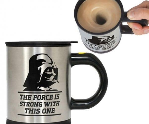 Darth Vader Self-stirring Mug: Feel the Power of the Dark(Roasted) Side
