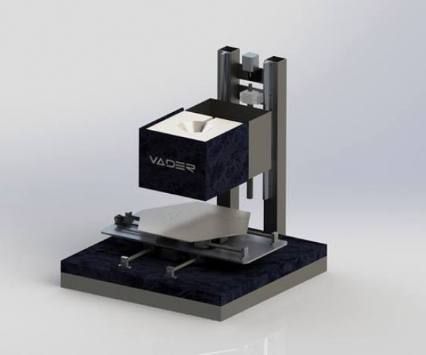 Vader 3D Printer Outputs Molten Metal