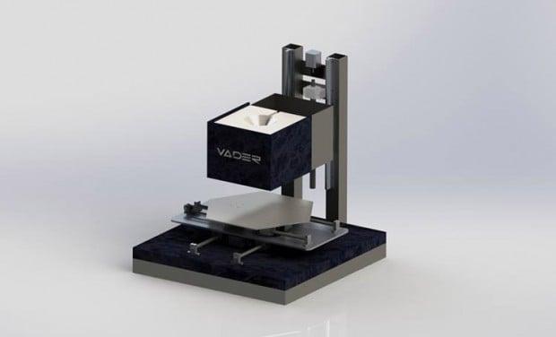 vader 3d printer prototype 620x376