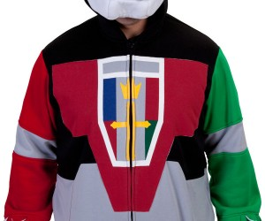 voltron deluxe costume hoodie by 80s tees 2 300x250
