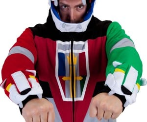 Voltron Deluxe Hoodie: And I'll Form the Hood!