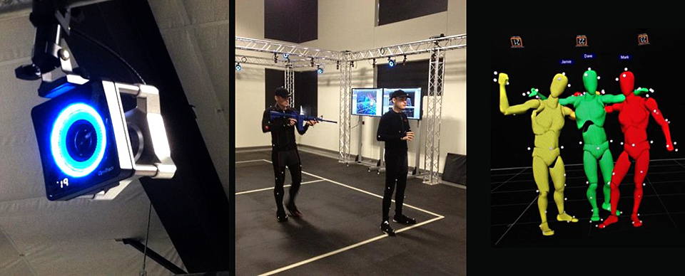 Vrcade Combines Motion Capture With Vr Headsets The
