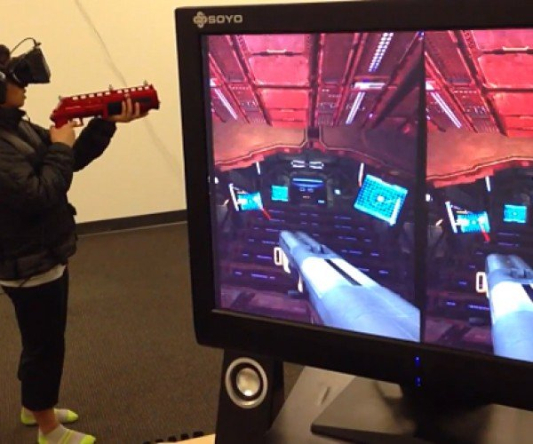 VRcade Combines Motion Capture with VR Headsets: The Arcade is Dead, Long Live the Arcade!