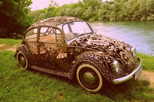 wrought iron vw beetle 1 620x412