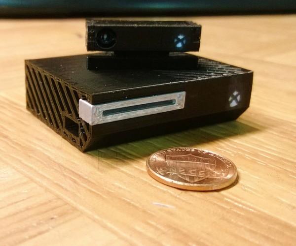 Mini Xbox One 3D Printed Model: Xbox 0.1