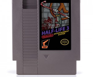 Half-Life 3 NES Cartridge Art: The Grinch's Gift to Gamers