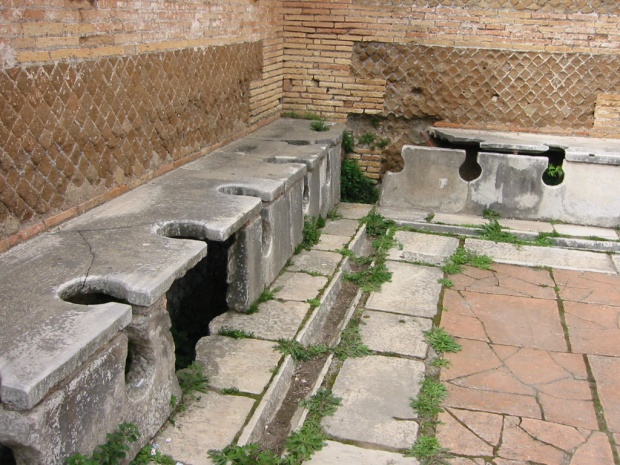 Ancient Toilet