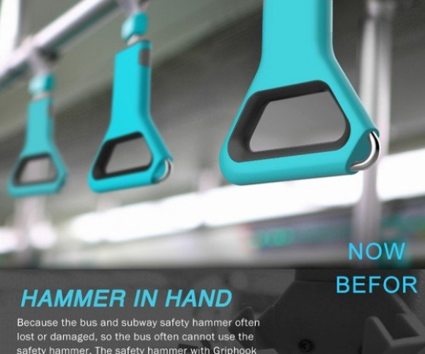 Hammer in Hand Is a Handle and a Window Breaker in One
