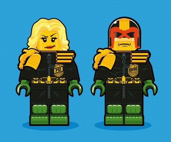 Iconic Characters from the 1980s Reimagined as LEGO Minifigs